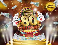 80 millones/ Gran casino Cúcuta