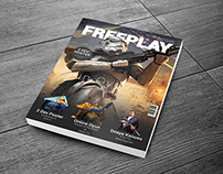 Freeplay Game Magazine Design