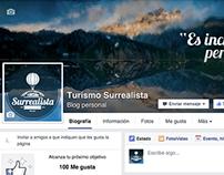 Turismo Surrealista - Frontcovers Facebook
