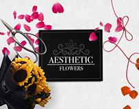 Web Design: Aesthetic Flowers