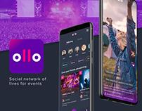 Ollo - Mobile Live App