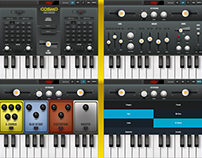 Cosmo Hybrid Synthesizer iOS App for iPad