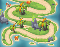 Map for Boomie Blast Island