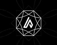Adamas(diamond) Psychology - Logo