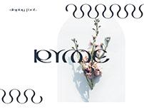 RYME_display font