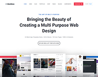 Blockbox Multi-Purpose HTML5 Template