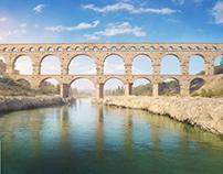 Pont du Gard, 1st. century AD.