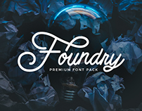 (30% OFF) Foundry Font Pack