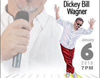 Dicky Bill Wagner Comedy Poster