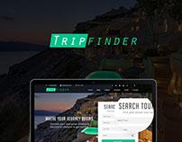 Tripfinder Webpage Design