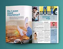 Editorial/mag. Medgulf Insurance - Lebanon