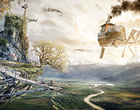 The Brink - From Matte Painting To Animation -