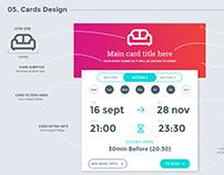 UI Cards design guidelines