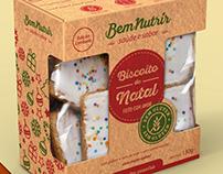 Christmas Cookies, for BemNutrir.