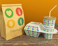 Flavourz Identity Design