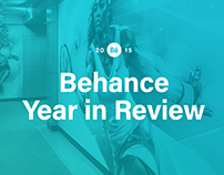 Behance Year in Review 2015