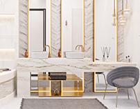 Master bathroom (CGI)