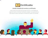 Layout e Ilustrações - Phidelis Certificados