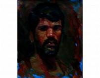 oil paintings on canvas(fine art)
