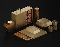 Golden Packaging