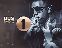 BBC Radio One - Kanye West Kinetic Typography