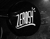 Zero54 Pub, Club and General Store - Brand Identity