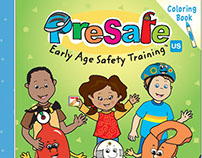 Presafe activity book & coloring books