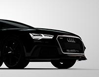 Audi RS7 - Dark voids