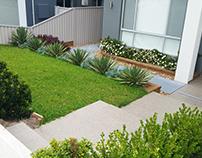 Modern Duplex Landscape Design, Ermington, NSW