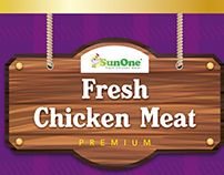 SunOne Fresh Chicken Meat  |  Packaging submission