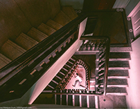 Architectures and spiral staircases in mumbai