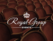 Royal Group Events // Web Design