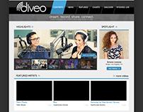 mydiveo.com proposed mockup