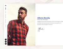 Recoba Vcard / Resume & Cv