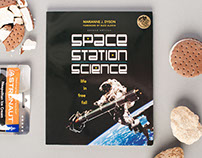Space Station Science Book Design
