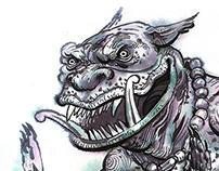 Demons in my sketchbook