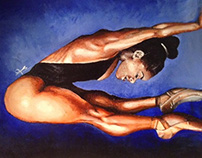 Misty Copeland Painting