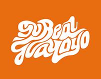 Su Real Guayoyo - Lettering Logotype