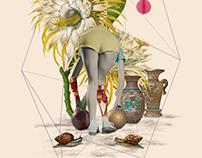 Antropoamórfico: Bowling girl