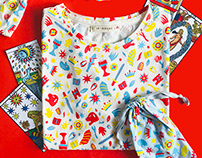 Le Mondé x Pi | Pattern design, clothing & accessories