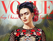 Frida Kahlo Vogue cover