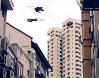 Alien Alley Chase