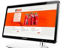 Diseño Web - Cliente: Elta extinguidores