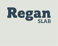Regan Slab - Typeface