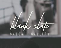 Brand Identity | Blank Slate Salon & Gallery