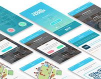 UX & UI for mobile app - Tecno FACENS