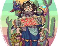 Hustle Bones ハッスル骨 - Side Character