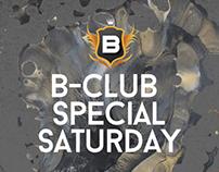 B-CLUB SPECIAL SATURDAY