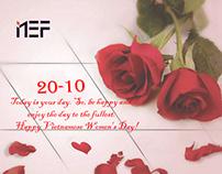 Chào mừng ngày Phụ nữ Việt Nam 20-10 cùng NEF Digital