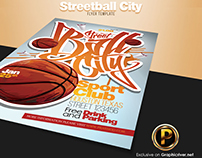 Streetball City Flyer Template